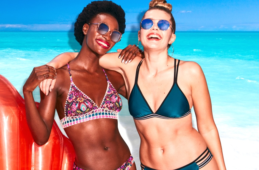 Thumbnail for Target's Unretouched Swimwear Campaign Wants You to Have Some Body-Positive Fun in the Sun