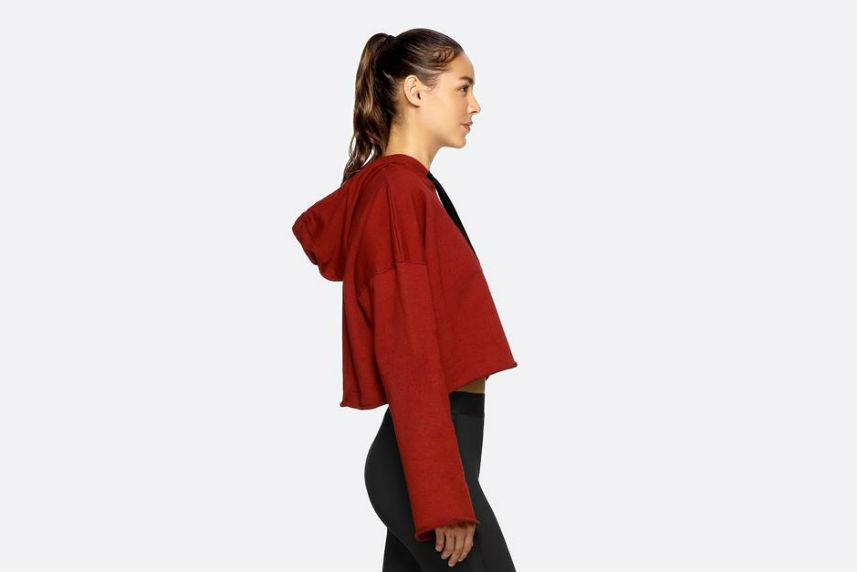 how to make sweatshirts look cool