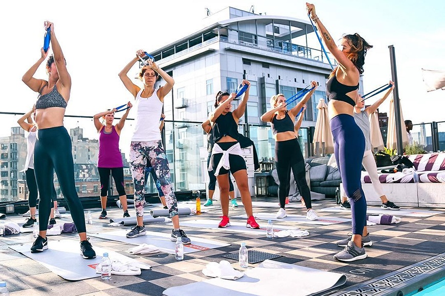 Thumbnail for Forget mints—here's why boutique fitness is the best amenity hotels are now offering