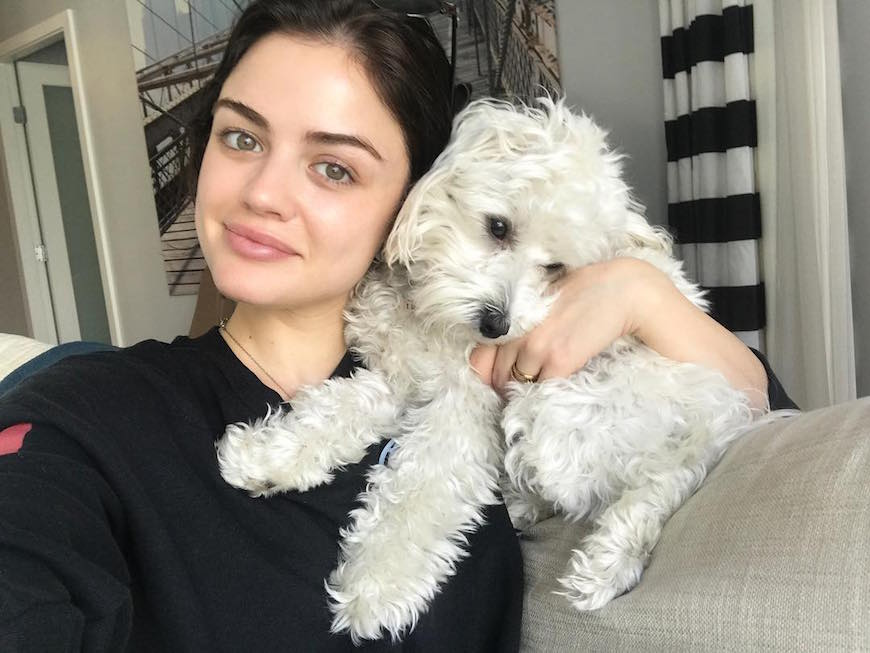 Thumbnail for The 5-minute practice Lucy Hale turns to in order to fight stress and anxiety