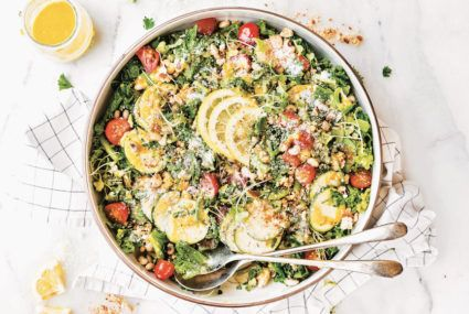 This Southern twist on the classic Caesar salad gives it superfood status