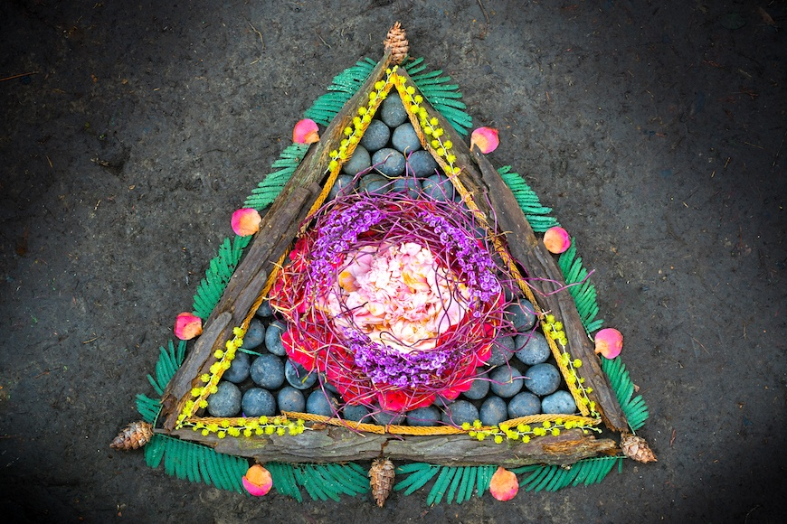 Earth Day altar slideshow