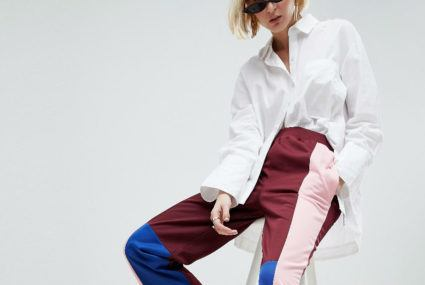 learn how to wear track pants in a stylish way