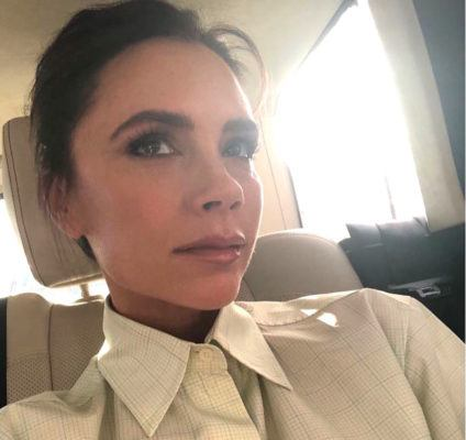 You'll soon be able to slather on serums from a skin-care line by Victoria Beckham