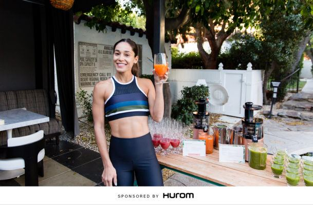 The energizing juice recipe Well+Good Retreats star Charlee Atkins is sipping all season long