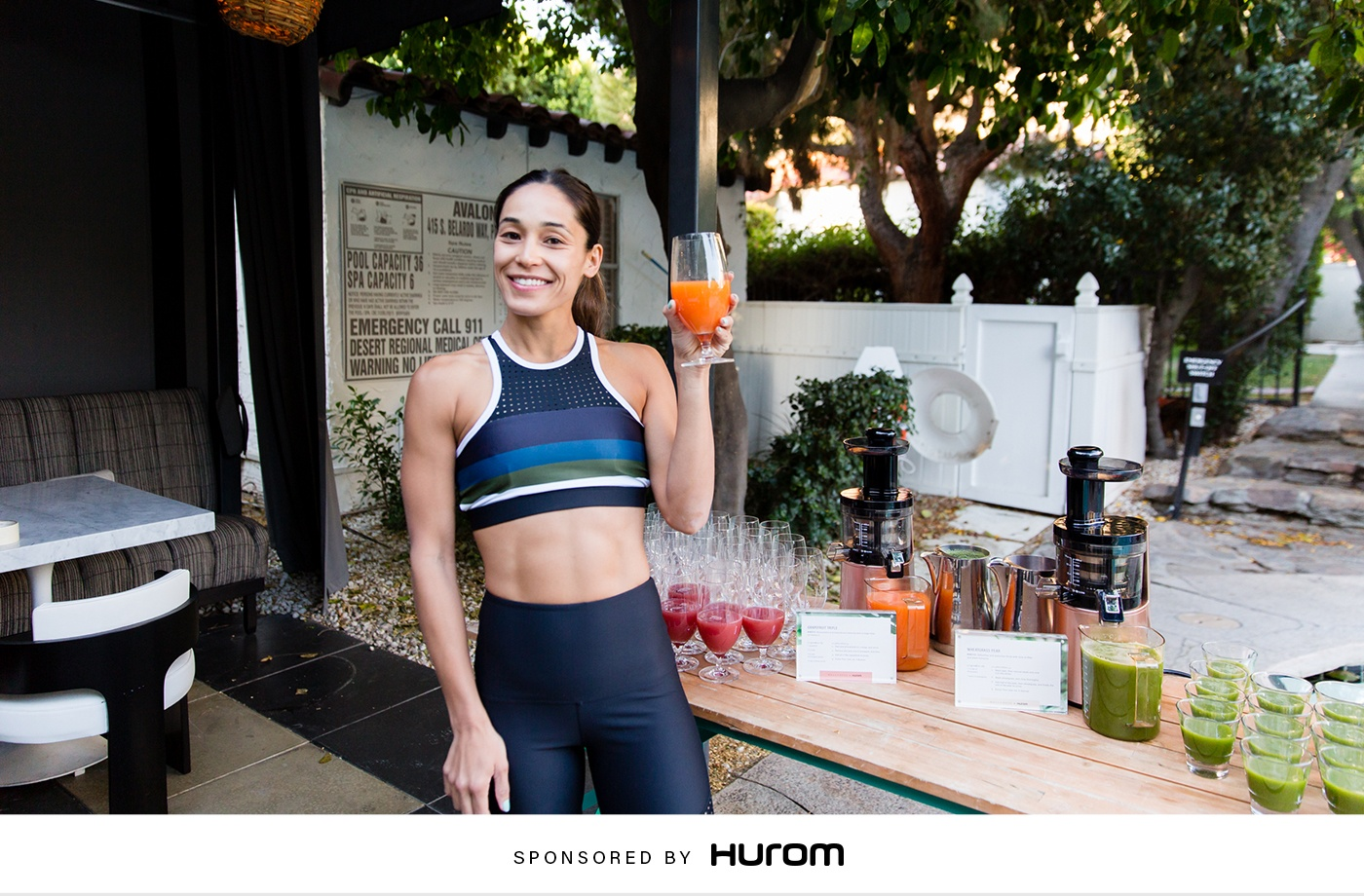 Thumbnail for The Energizing Juice Recipe Well+Good Retreats Star Charlee Atkins Is Sipping All Season Long
