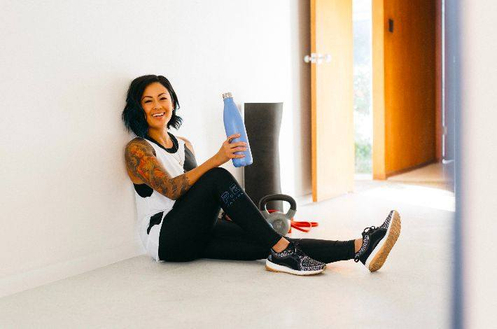 The holistic health coach who's proving you can be a mom *and* prioritize self care