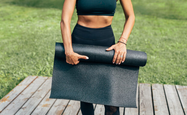 This Is the Ideal Mat To Use for Every Type of Yoga, According to the...