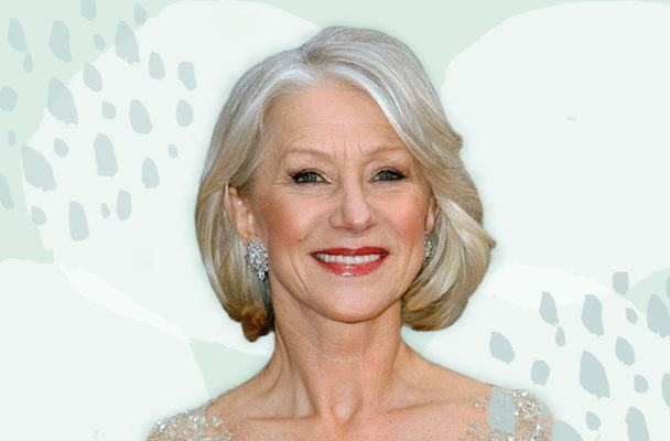 Helen Mirren's latest beauty obsession? Full brows