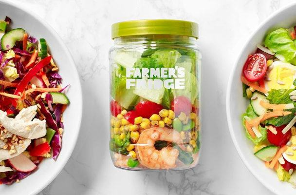 Could your next go-to salad lunch spot be a vending machine?
