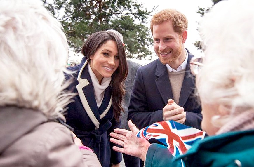 Thumbnail for Why Prince Harry and Meghan Markle want wedding guests to pay it forward in lieu of gifts