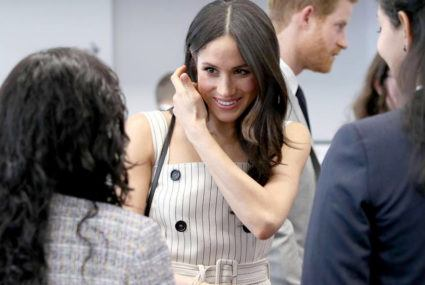 Meghan Markle used to do freelance calligraphy
