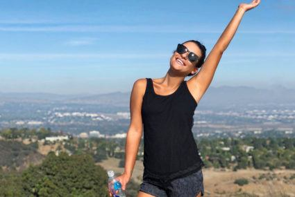 Why Lea Michele says all exercise should work your body *and* soul
