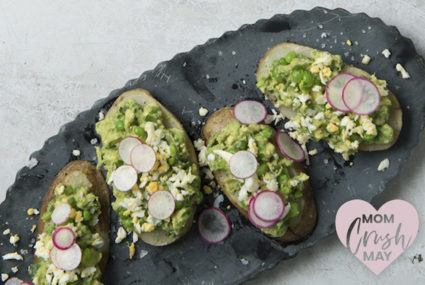 This unexpected twist on avocado toast will rock your Mother's Day brunch