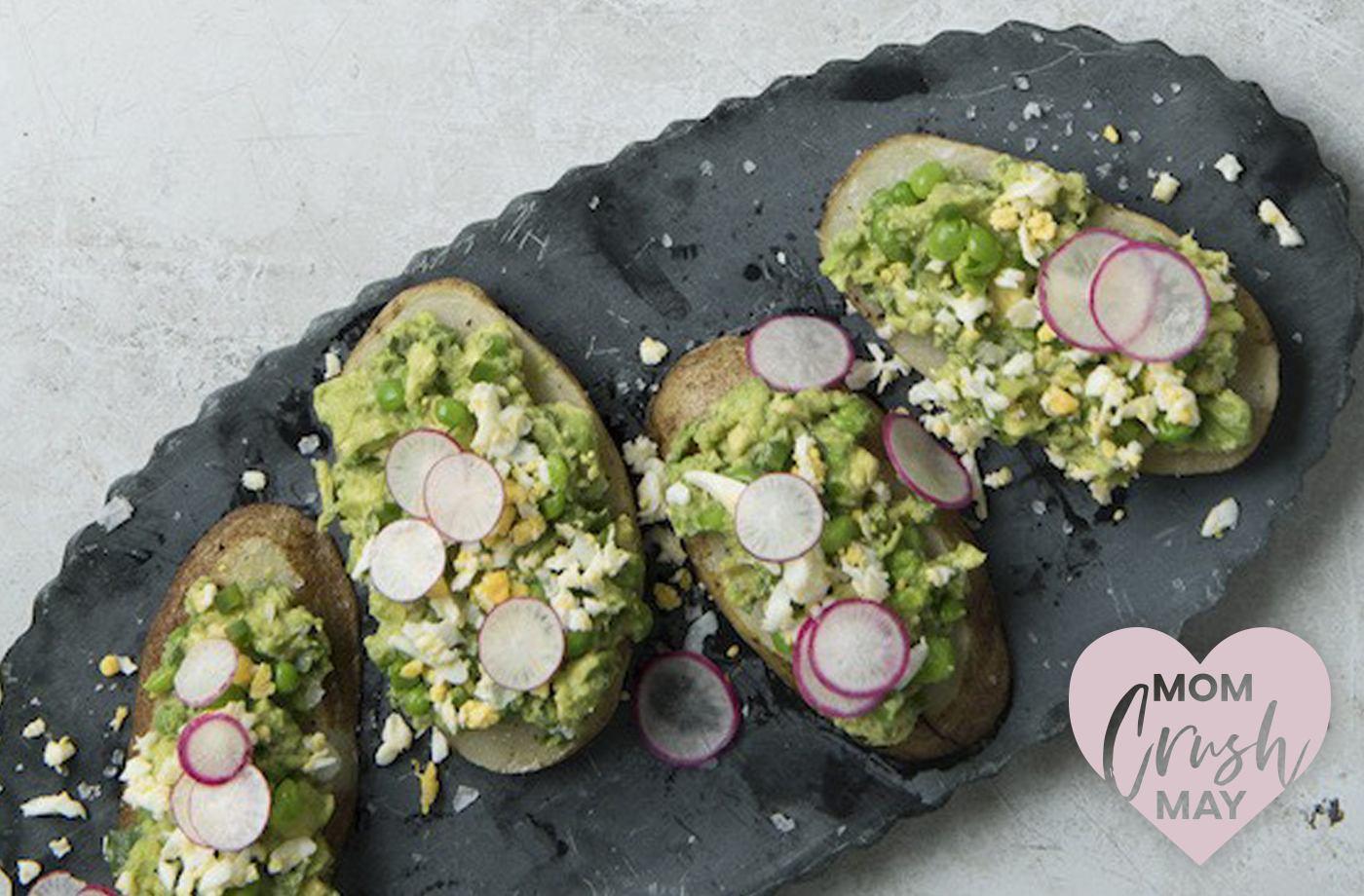 Ali Mafucci mother's day avocado toast