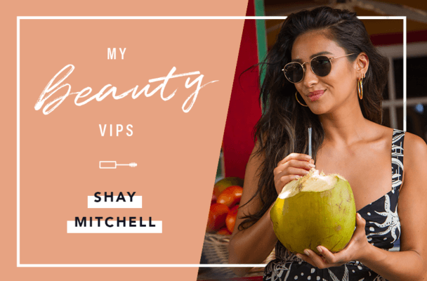 Shay Mitchell never leaves home without coconut oil—here's why