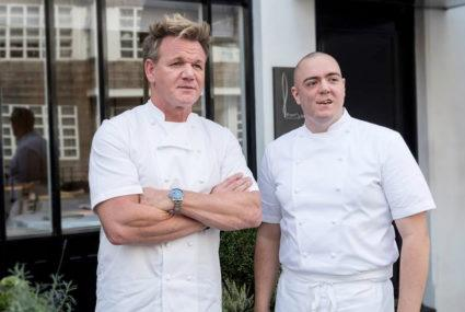 Meat-loving chef Gordon Ramsay announces he's going vegan—for at least one meal