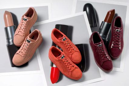 MAC x Puma lipstick-sneaker sets are coming