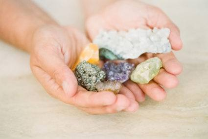 gemstones and skincare