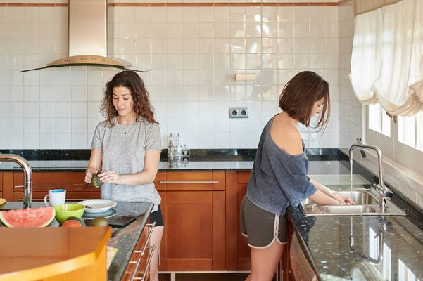 The essential oil blend that gets your dirty dishes clean, care of Shiva Rose