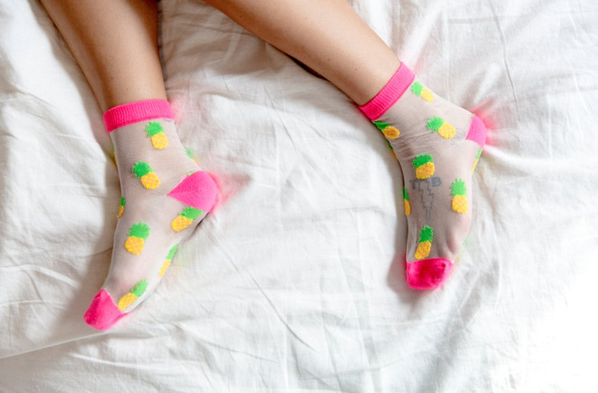 wear socks to improve libido