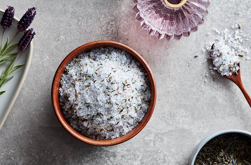 how to bring nature into your home with salt