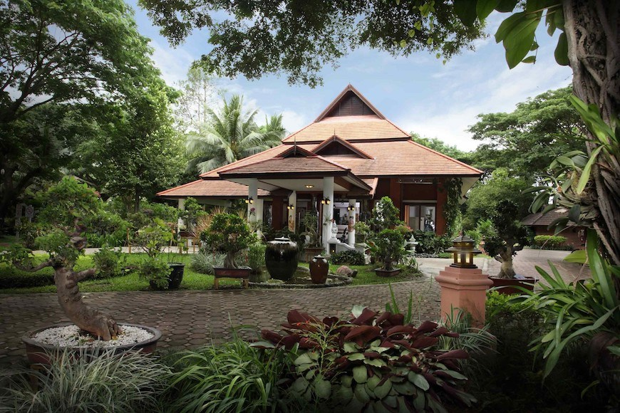 Tao Garden wellness resort in Chiang Mai