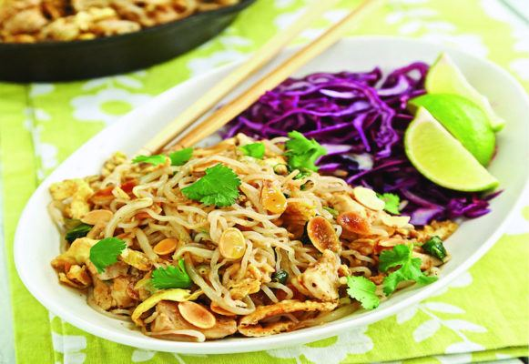 This homemade keto pad Thai will satisfy your takeout cravings
