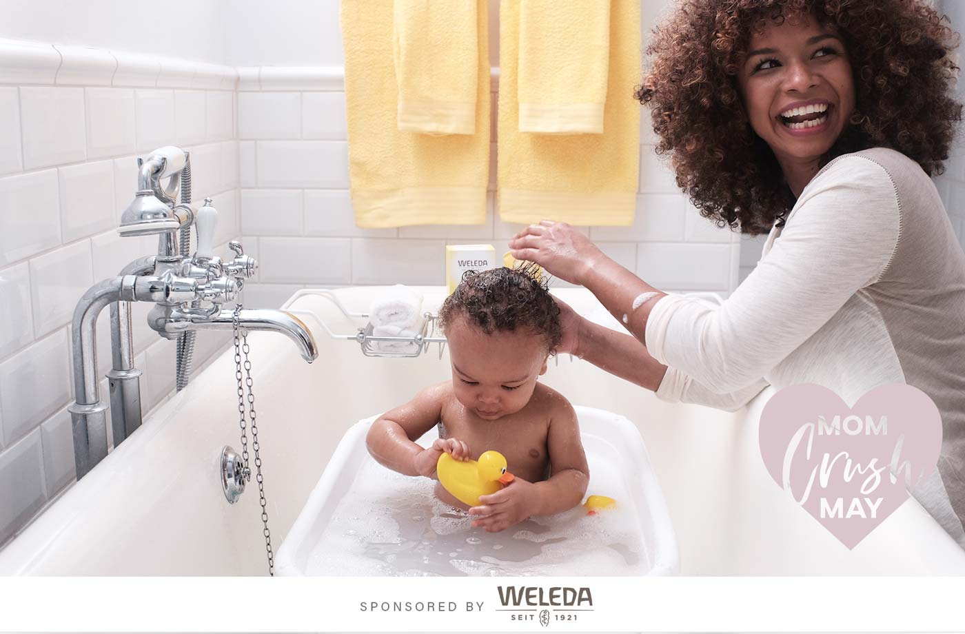Thumbnail for The wellness-boosting perks of bath time beyond a clean and calm baby