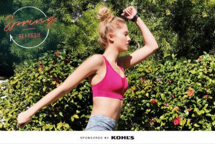 Spring workout clothes Kohl's