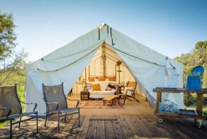 Airbnb's affordable worldwide glamping listings
