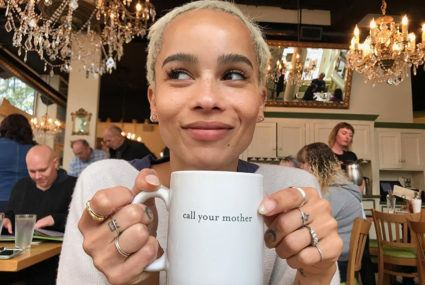 This is how Zoe Kravitz keeps her skin so glowy while traveling