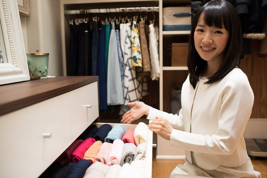 Marie Kondo and the attraction to shrinking your life