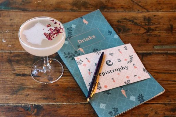 This low-sugar floral cocktail is essentially spring in a glass