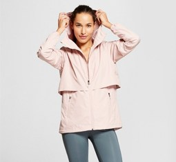 Zip up an '80s-inspired windbreaker to fashionably survive spring showers