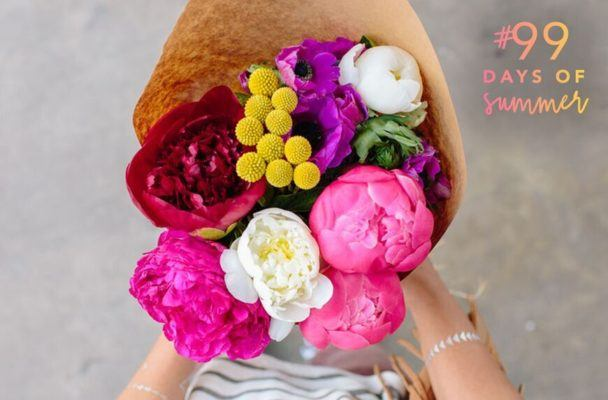 How to decorate your home with summer blooms on the cheap