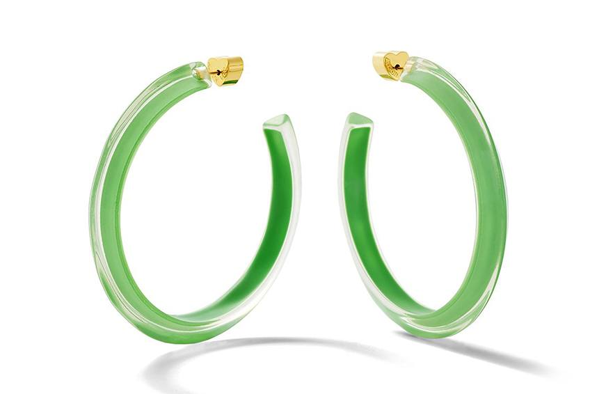 Alison Lou Jelly Hoops, $145