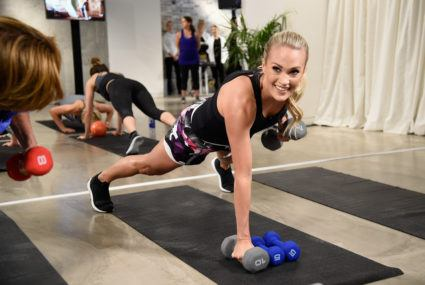 Carrie Underwood's favorite workout is super fast and intense
