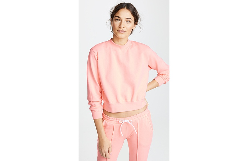 Cotton Citizen The Milan Crop Crew ($195) cropped