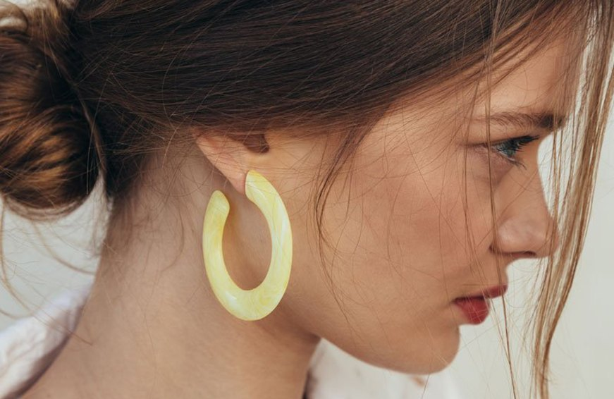 Thumbnail for Refresh Your Hoop Game for Summer With This New Earring Trend