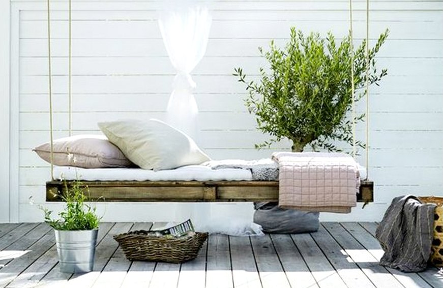 Pinterest says you're going to spend your summer swinging on a dreamy daybeds