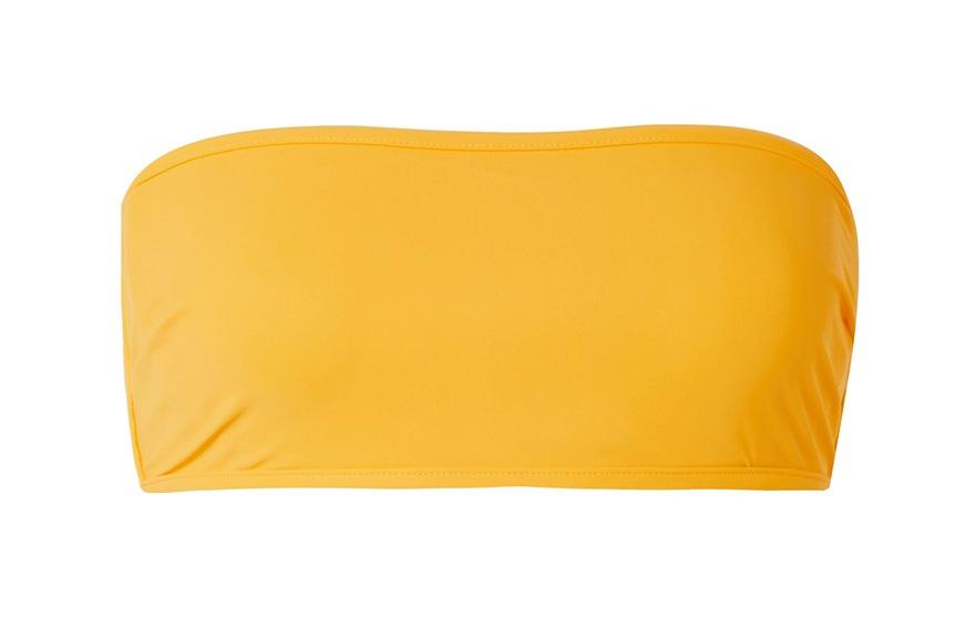 Diane von Furstenberg Bandeau Bikini Top, $100