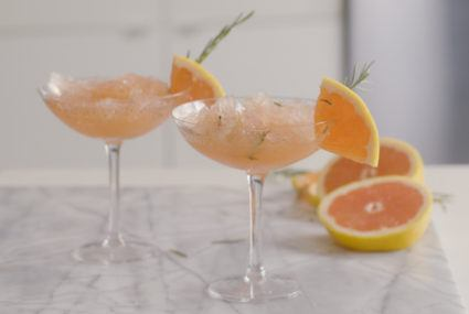 grapefruit rosemary frose