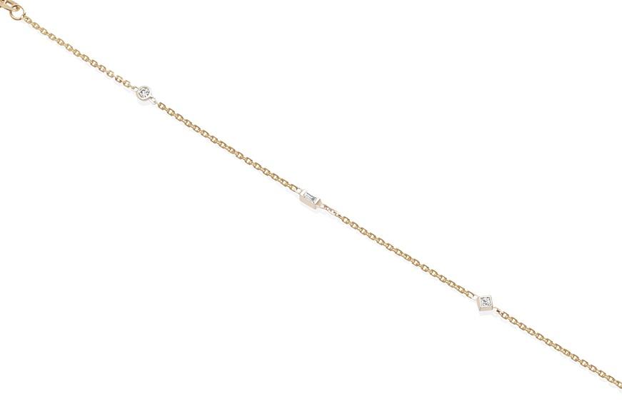 Lane + Lanae Rock Paper Scissors Wrist Chain, $980