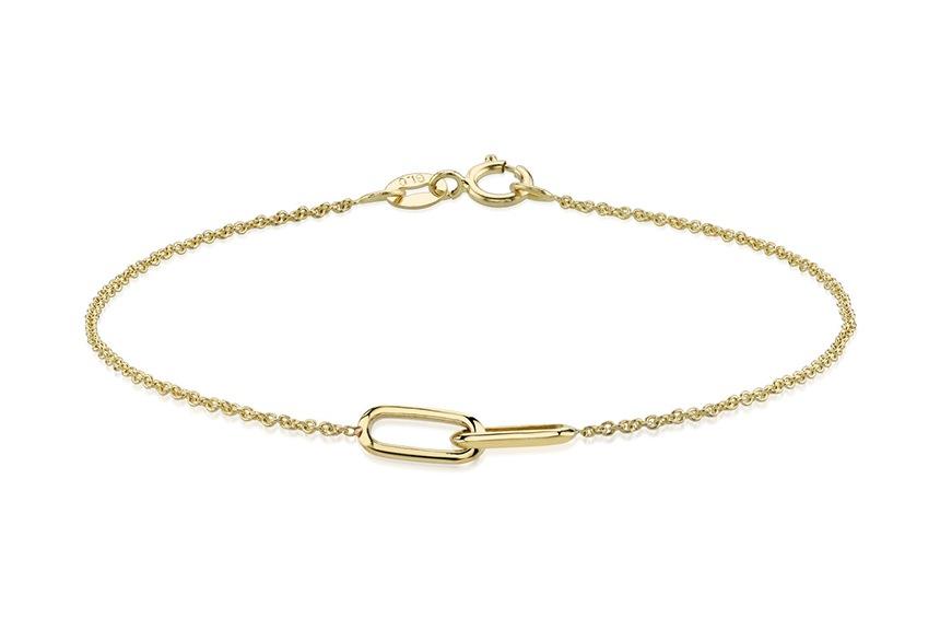Lizzie Mandler Linked Bracelet, $320