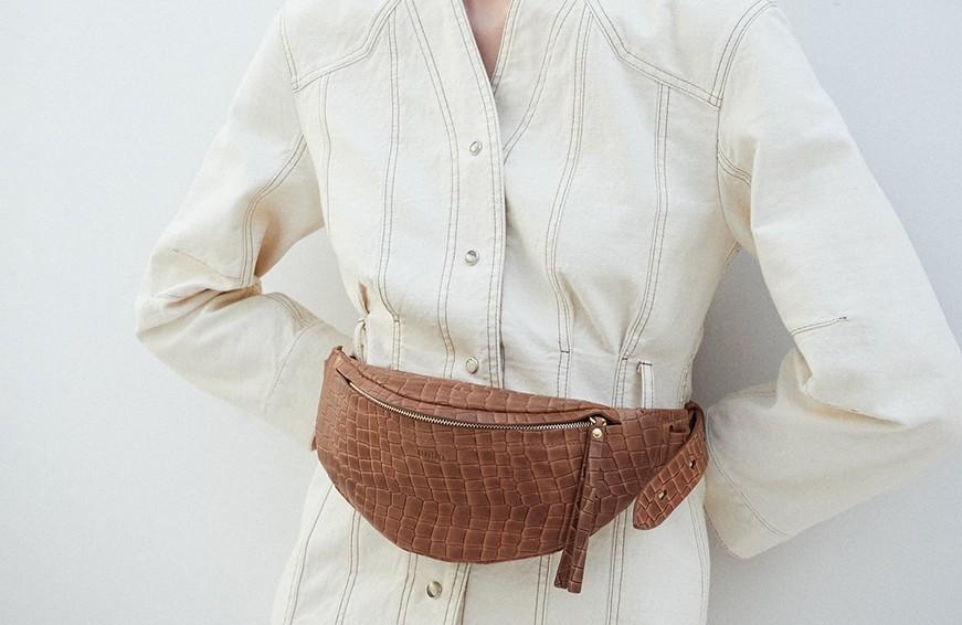 D-Antidote x Fila Belt Bag, $175 cropped
