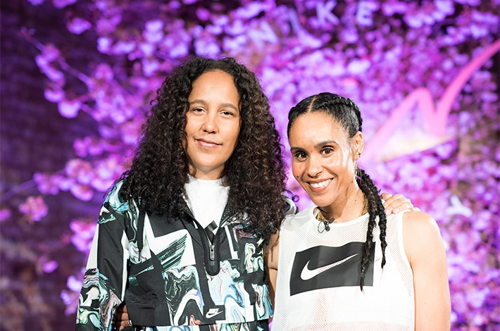 HOW THESE TWO MEGA-SUCCESSFUL WOMEN CHANNELED (LITERAL) SWEAT INTO THEIR CAREER GOALS