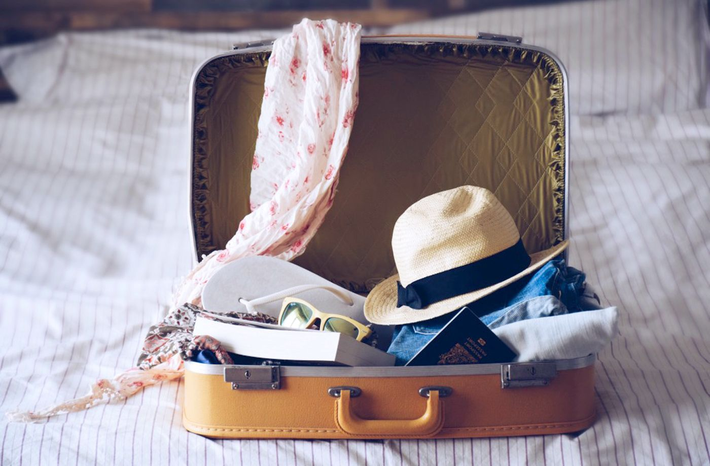 Thumbnail for Keep the dirty clothes in your suitcase smelling fresh with this genius hack