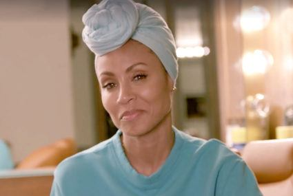 """Jada Pinkett Smith opens up about her """"terrifying"""" hair loss—and what she does to still feel like a queen"""