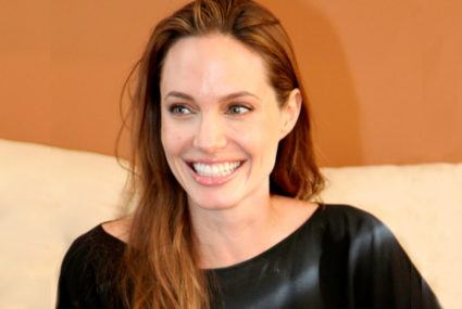 Want Angelina Jolie's flawless complexion? Her derm-approved skin-care routine is *super* simple